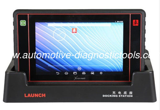 Launch X431 PAD II Tablet Diagnostic Computer Launch X431 Scanner Support WIFI With 2 Years Warranty Update Online Free