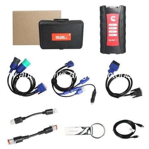 Cummins INLINE 7 Data Link Adapter Heavy Duty Diagnostic Tool Reflash Data, Read & Write ECU