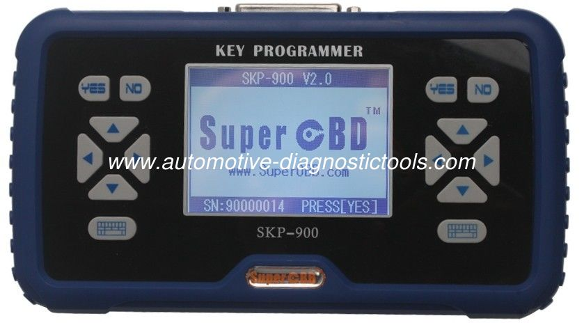 SuperOBD SKP900 Handheld OBD2 Car Key Programmer V4.5 No Need Pin Code When Do Key Programming