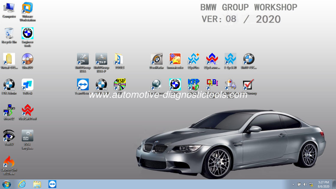 2020 BMW ICOM Diagnostic Software ISTA-D 4.24.13 ISTA-P 3.67.1.0 Support W7 System With Diagnostic and Programming